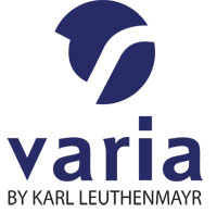 Logo Varia by Karl Leuthenmayr