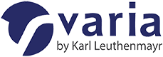Varia by Karl Leuthenmayr Logo