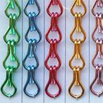Kettengliedvorhang / Fliegenvorhang aus Aluminium
