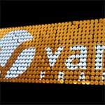 Airdisplay für Markenschilder und Fassaden