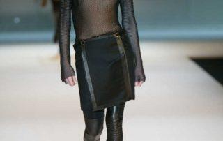Kettenvorhangstoffe in der Mode, Paco Rabanne