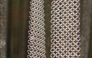 Kettenvorhang Detailaufnahme