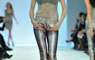 Metallgewebe in der Mode BARBARA BUI