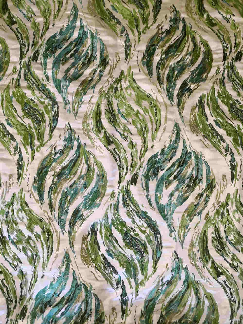 73.32060 Sandwaves Silk embroidert € 150.00 flat presentation