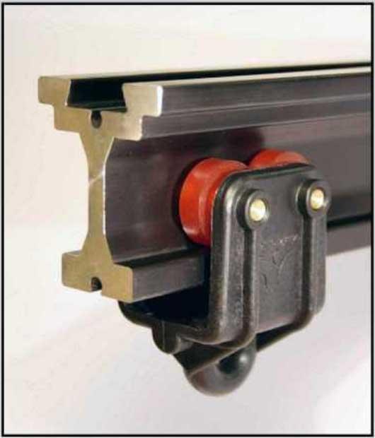 Vorhangschienensystem für schwere Vorhänge
