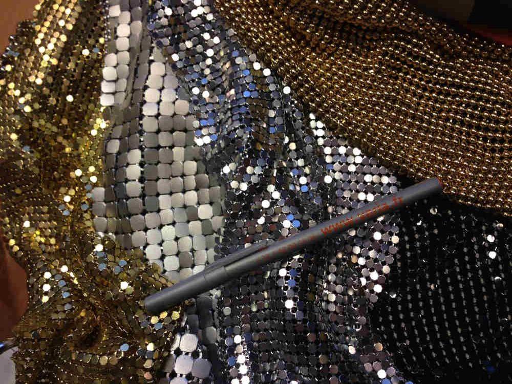 Farben und Größen Metallvorhangstoffe Easy Metal