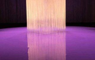 Fadenvorhänge im Theater