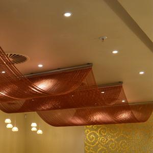 Fliegenvorhang für die Deckenbeleuchtung