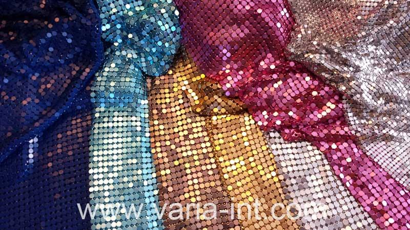 Metallvorhang Farben