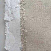 Seidentapete auf Papier