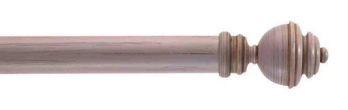 Gardinenstange von Byron & Byron - Aercolanium Pink Scratched