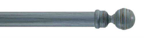 Gardinenstange von Byron & Byron - Globe Powder Blue Scratched