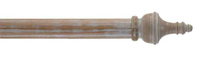 Gardinenstange von Byron & Byron - Paestum Striped Pine