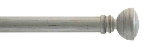 Gardinenstange von Byron & Byron - Pompeii Ivory Scratched