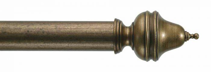 Gardinenstange von Byron & Byron - Clandon Antique Gilt