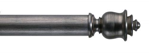 Gardinenstange von Byron & Byron - Clouds Antique Silver