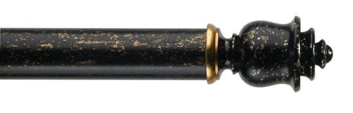 Gardinenstange von Byron & Byron - Clouds Florentine Black