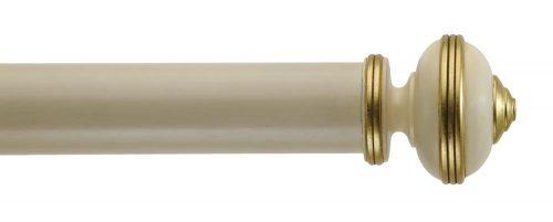 Gardinenstange von Byron & Byron - Hardwick Antique Cream
