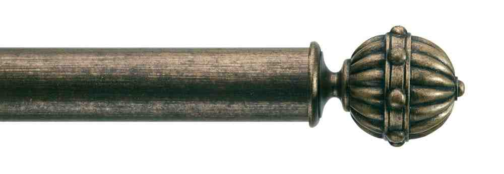Gardinenstange von Byron & Byron - Hampton Antique Gilt