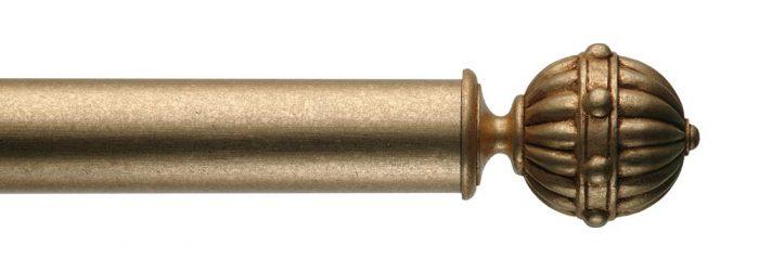 Gardinenstange von Byron & Byron - Hampton Antiquities Gilt