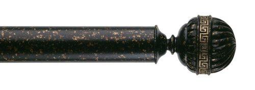 Gardinenstange von Byron & Byron - Olympia Florentine Black