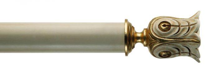 Gardinenstange von Byron & Byron - Siena Antique Cream & Details