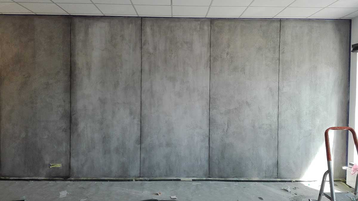 Wand in Beton-Look