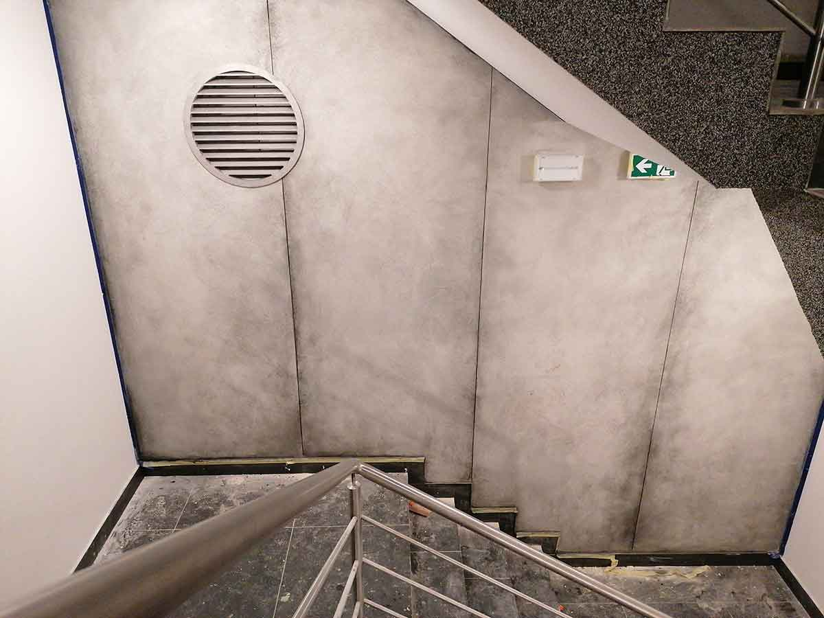 Wand Beton-Look