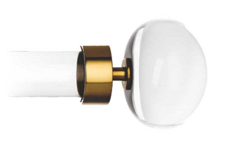 Orion burnished brass