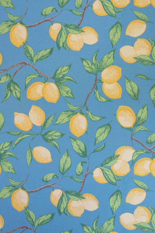 Capri Zitronen Tapete Barneby Gates