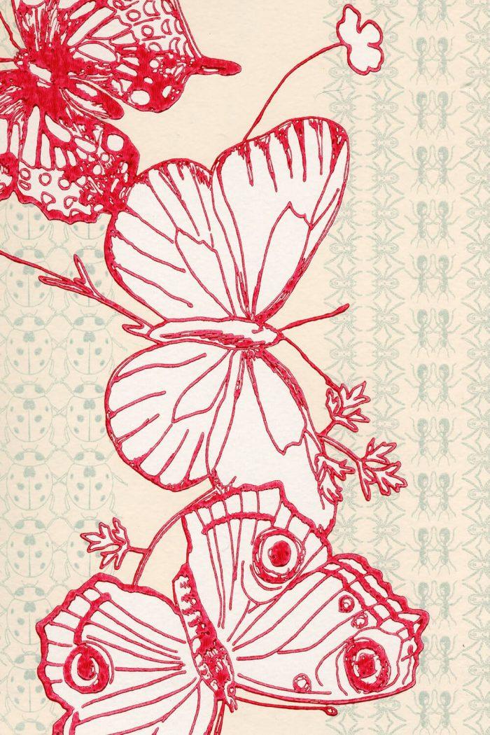 Käfer & Schmetterlinge Tapete Barneby Gates