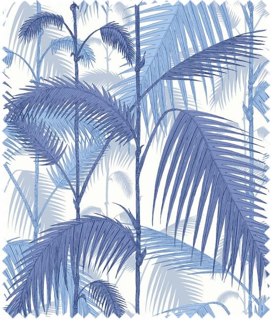 Cole and Son Stoffe - Palm Jungle Linen Union