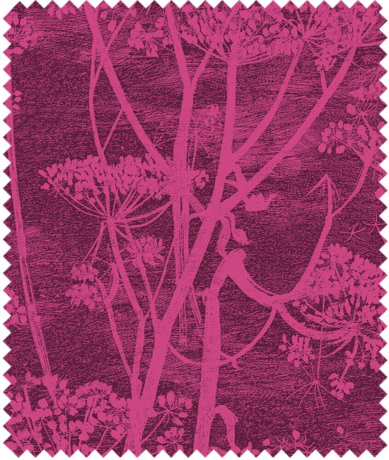 Cole and Son Stoffe - Cow Parsley Velvet
