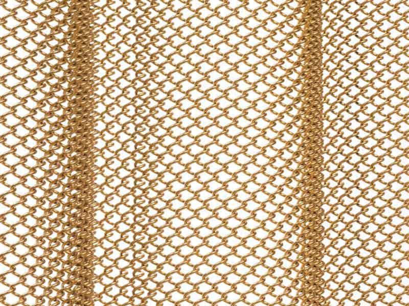 Metallgeflecht Detail