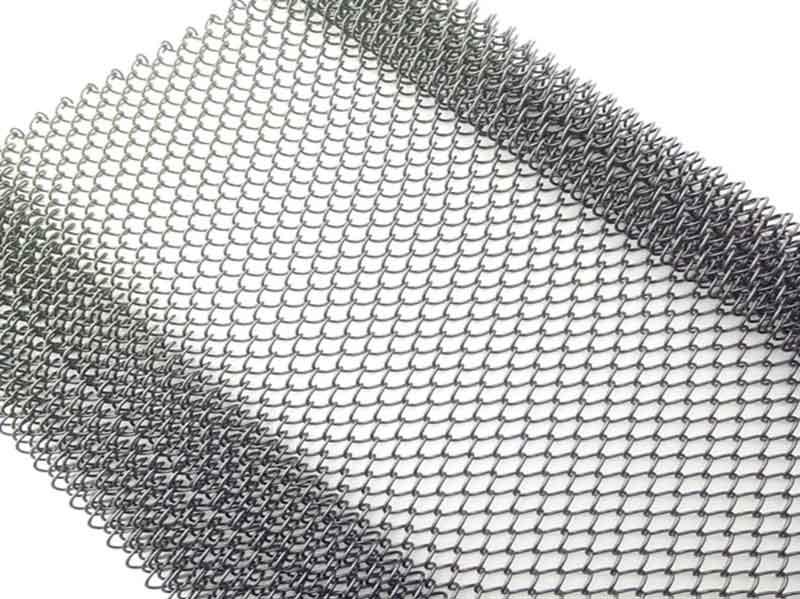 Metallgeflecht Material