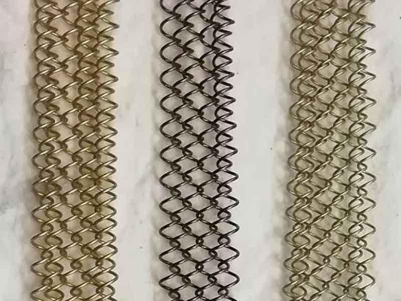 Metallgeflecht Muster