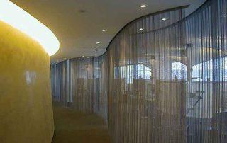 Metallgeflecht Vorhang Hotel2