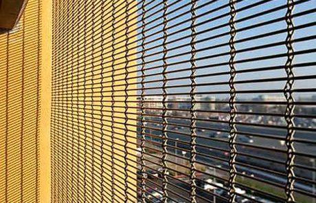 Metallgitter Balkon