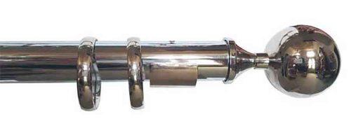 Gardinenstange Boule-Nickel-1172
